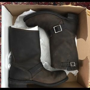 Frye engineer boots perfect condition